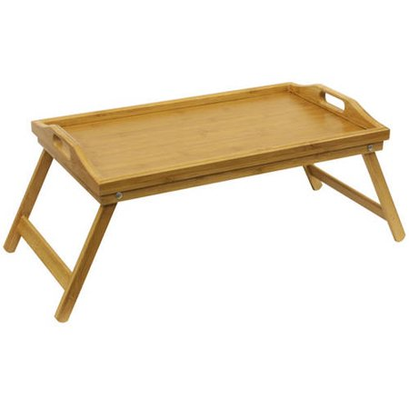 Home Basics Bamboo Bed Tray With Folding Legs
