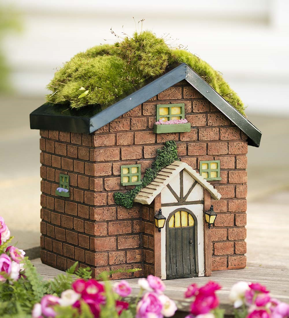 Miniature Fairy Garden House Planter