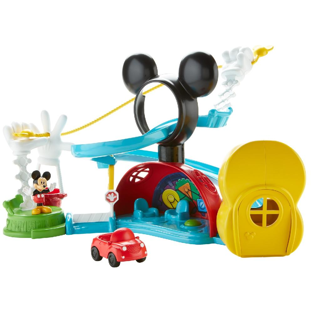 fisher price disney mickey mouse clubhouse zip slide and zoom
