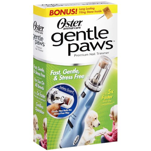 Oster Animal Care Gentle Paws Premium Nail Trimmer, 1pk