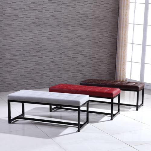 VisionXPro, Inc. Signature Designs Modern Metal Tufted Bench