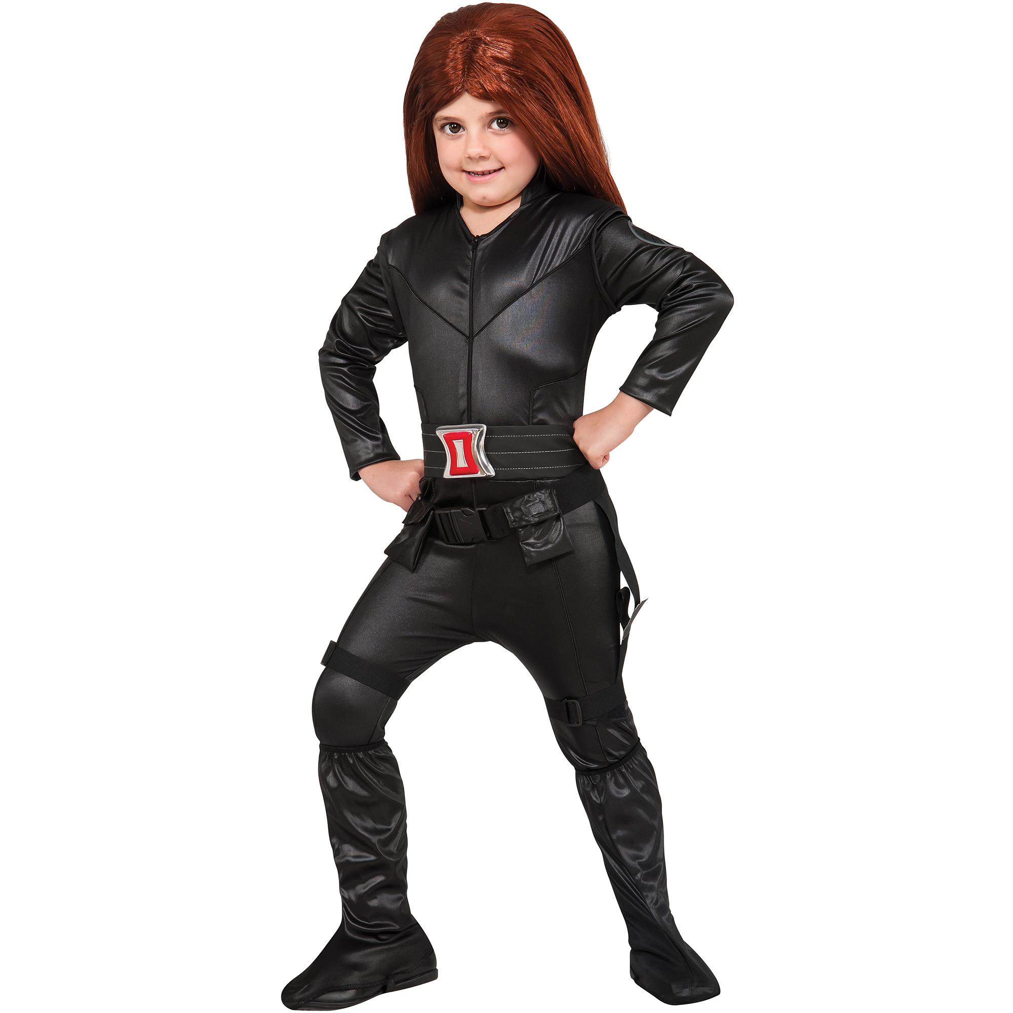 Deluxe Black Widow Child Halloween Costume
