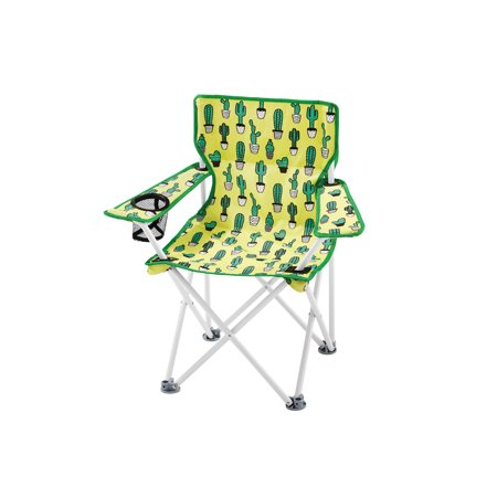 Magnificent Ozark Trail Kids Chair With Cactus Print 22X15X25 125Lb Ocoug Best Dining Table And Chair Ideas Images Ocougorg