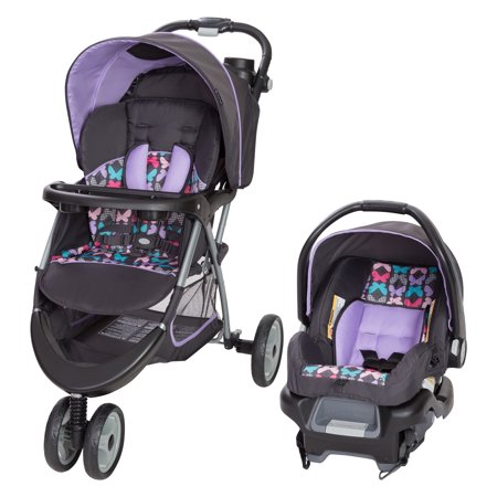 Baby Trend EZ Ride 35 Travel System, Sophia Purple