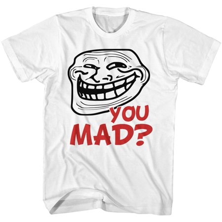 U Mad  You Mad Bro  Meme Gif Trending Red You Mad  Adult T Shirt