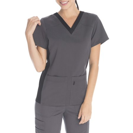 d825ad9514e UPC 724841427658 product image for SCRUBSTAR Women's Premium Collection  Flexible Rayon V-Neck Scrub Top ...