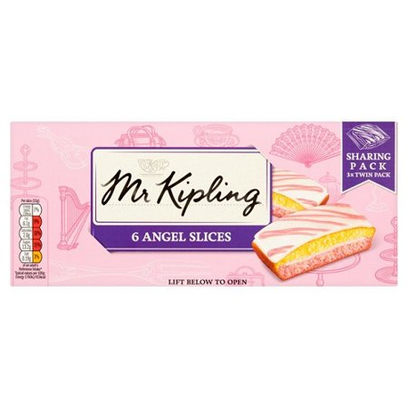 Mr Kipling Cakes - Angel Slices - 6 - Mr Cake Mlp