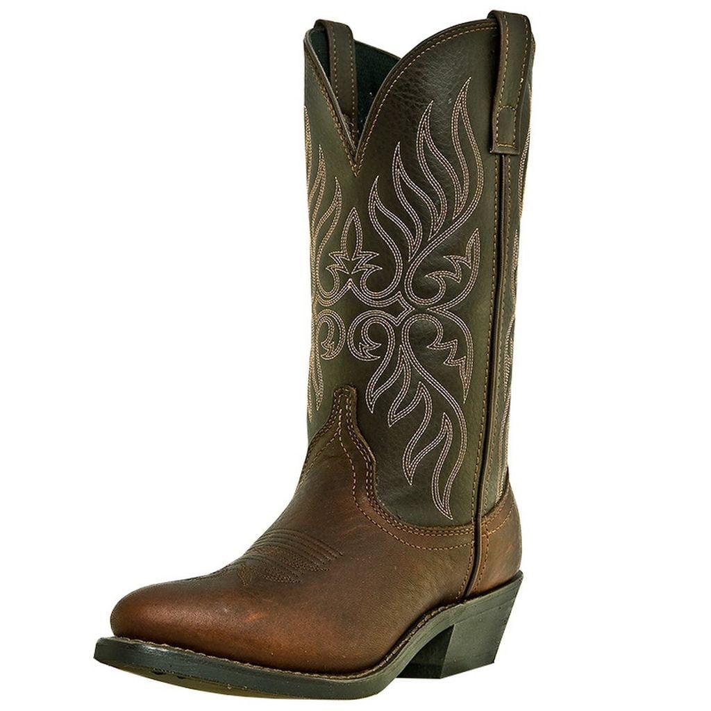 Laredo Western Boots Womens Cowboy Kelli Trucker Copper Kettle 5752 by Laredo