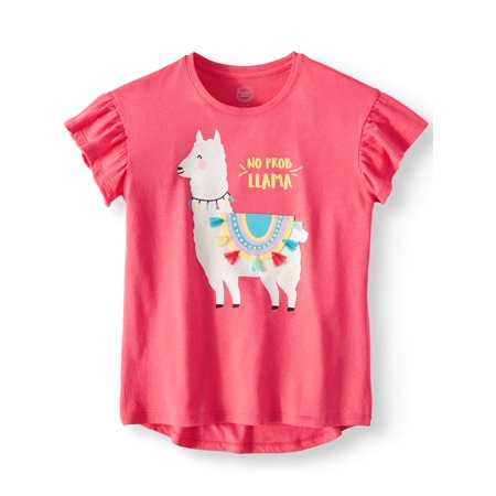 Wonder Nation 3D Embellished Graphic T-Shirt (Little Girls, Big Girls & Big Girls Plus) ()