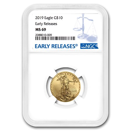2019 1/4 oz Gold American Eagle MS-69 NGC (Early (Ms69 Early Release)