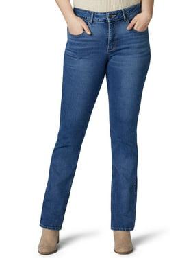 Lee Riders Women's Plus Size Shape Illusions Midrise Bootcut Jean