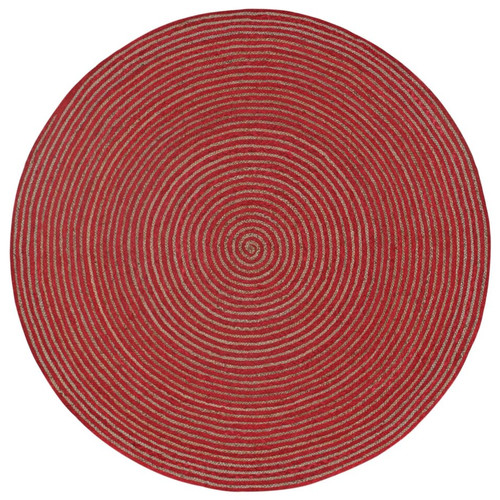 St. Croix Earth First Hand-Loomed Red Area Rug