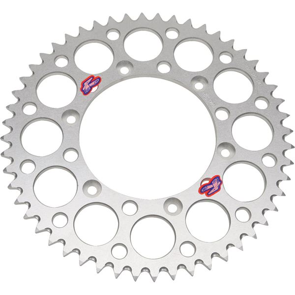 Renthal Rear Aluminum Sprocket 36 Tooth Silver 223u 520 36gpsi