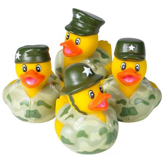 DDI 1930816 2 in. Assorted Army Camouflage Rubber Ducks by DDI