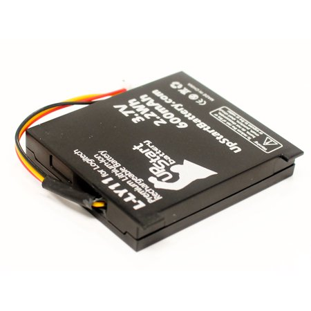 2x Pack - Logitech MX Revolution (Older Generation) Battery - Replacement for Logitech L-LY11 Mouse Battery (600mAh, 3.7V, Lithium-Ion) - image 2 de 4