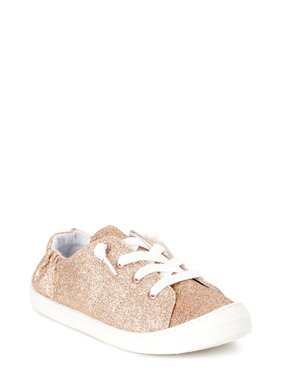Wonder Nation Casual Bump Toe Sneaker (Little Girls & Big Girls)