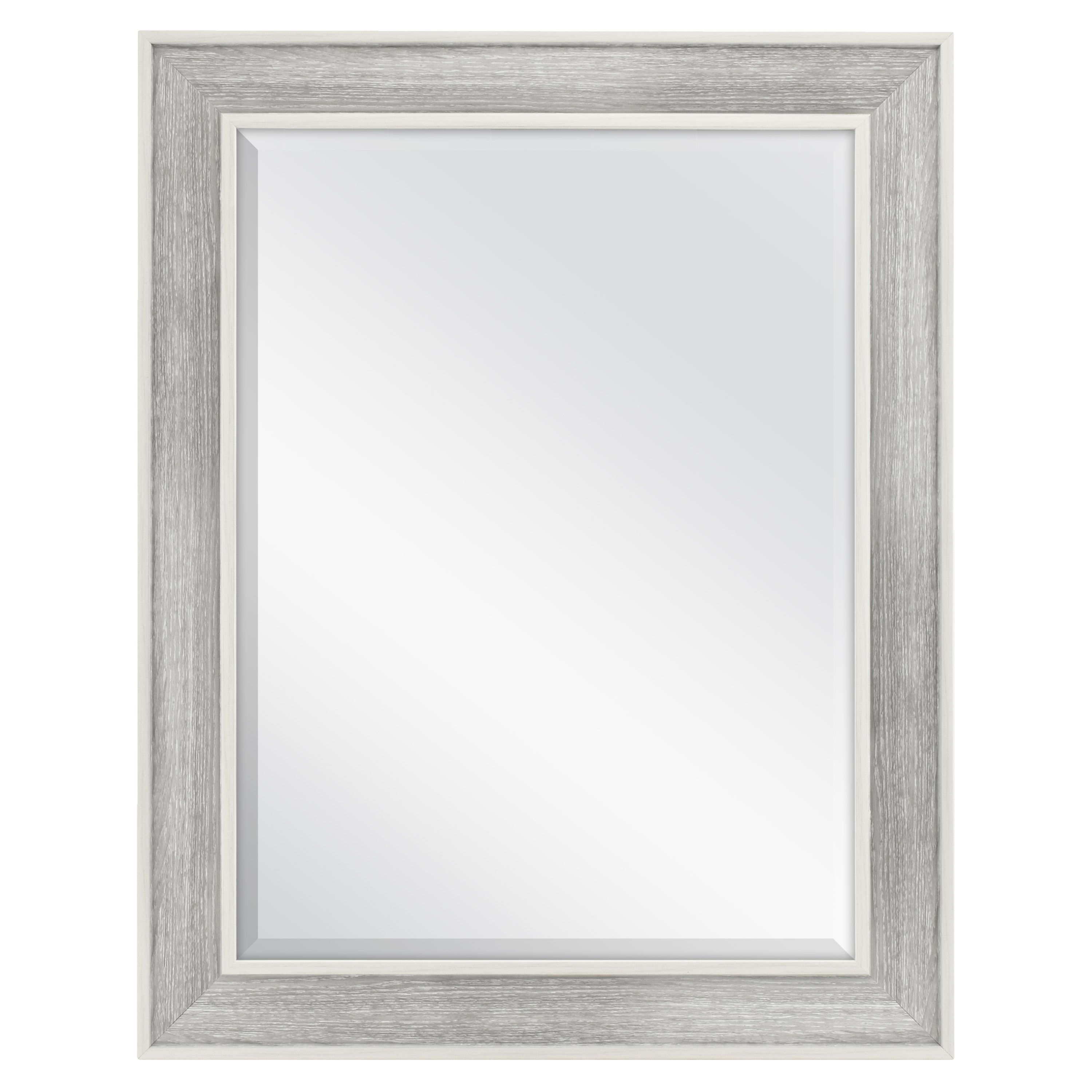 Beveled Wall Mirror better homes & gardens 23x29 coastal grey beveled wall mirror
