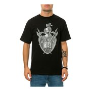 Black Scale Mens The Knighted Crest Graphic T-Shirt, black, Small