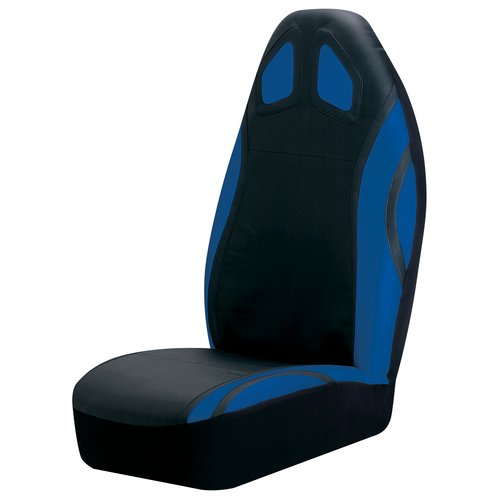 Auto Expressions Sport Performance Bucket Seat Cover, Blue