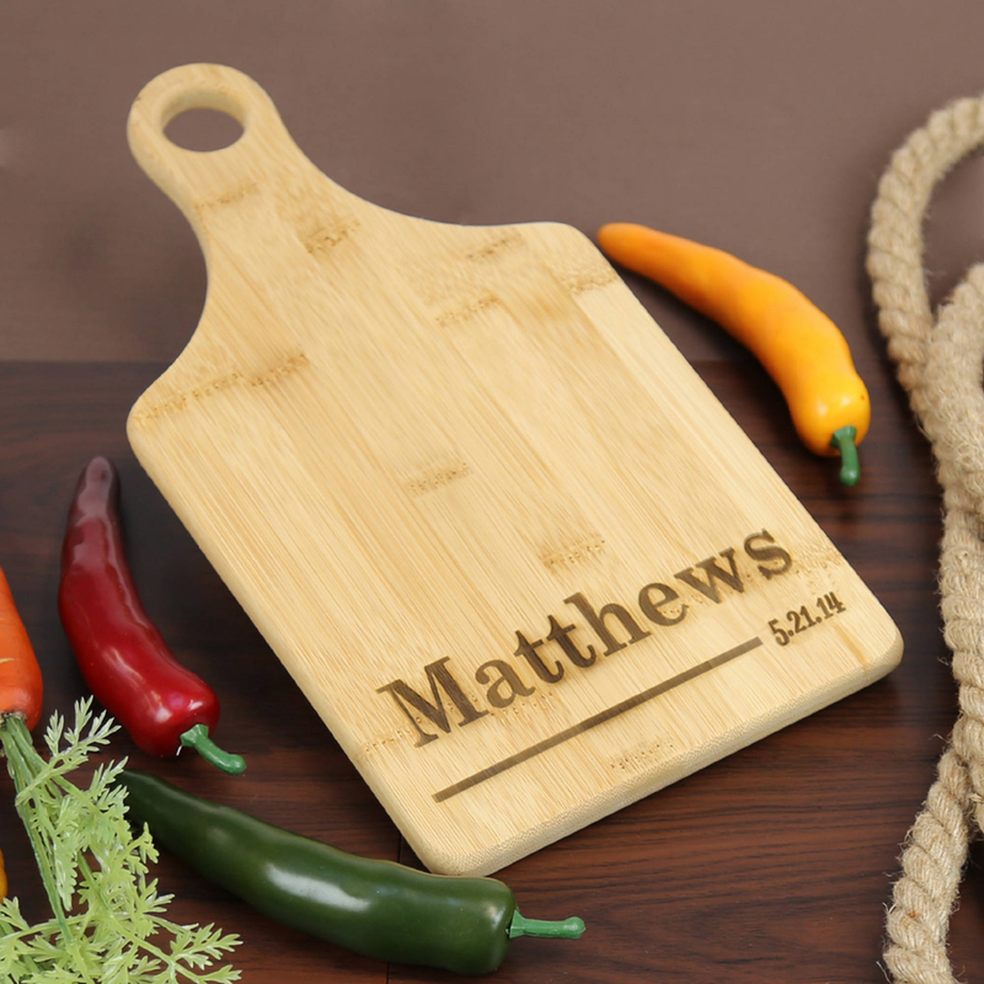 "Personalized Serving Board, 12.5"" x 11"""