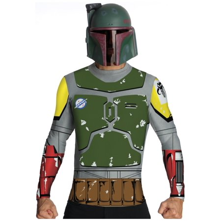 Adult Boba Fett Top and Mask - image 1 of 1