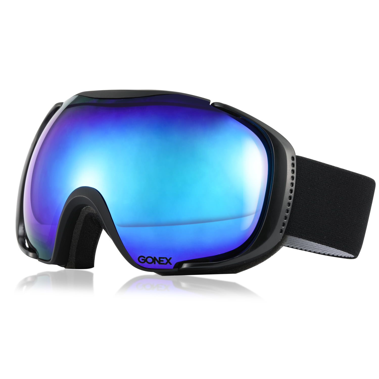 Gonex Polarized Ski Goggles Anti-fog Anti-glare Snow Goggle UV400 Protection with Oversized Double Spherical Lens by