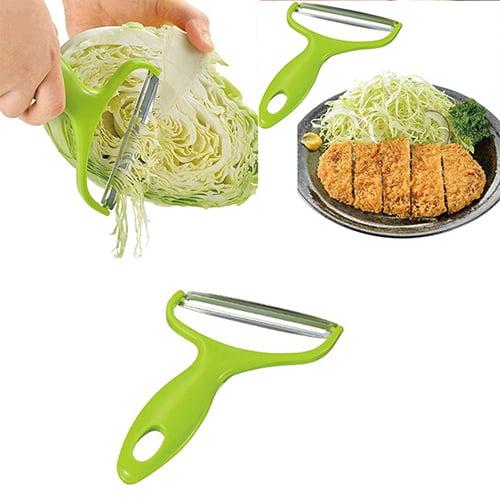 Girl12Queen Vegetable Peeler Cabbage Grater Potato Slicer Cutter Fruit Knife Salad Tool