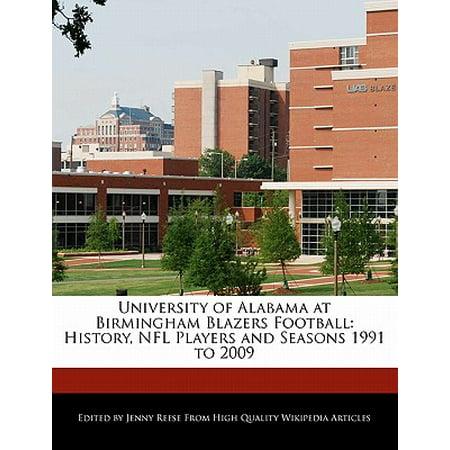 University of Alabama at Birmingham Blazers Football : History, NFL Players and Seasons 1991 to (Marshall University Football Players In The Nfl)