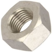 """1""""-8 18-8 Stainless Steel Hex Nuts (1 per pack)"""