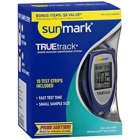 Sunmark TrueTrack Blood Glucose Monitoring System