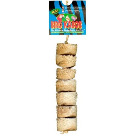 Wesco Bird Kabob Shreddable Bird Toy - Mini 1.25\