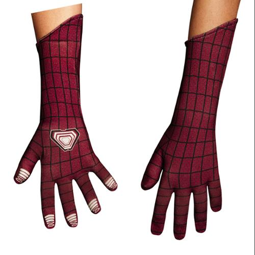 Boys Amazing Spider-Man Deluxe Gloves For Costume