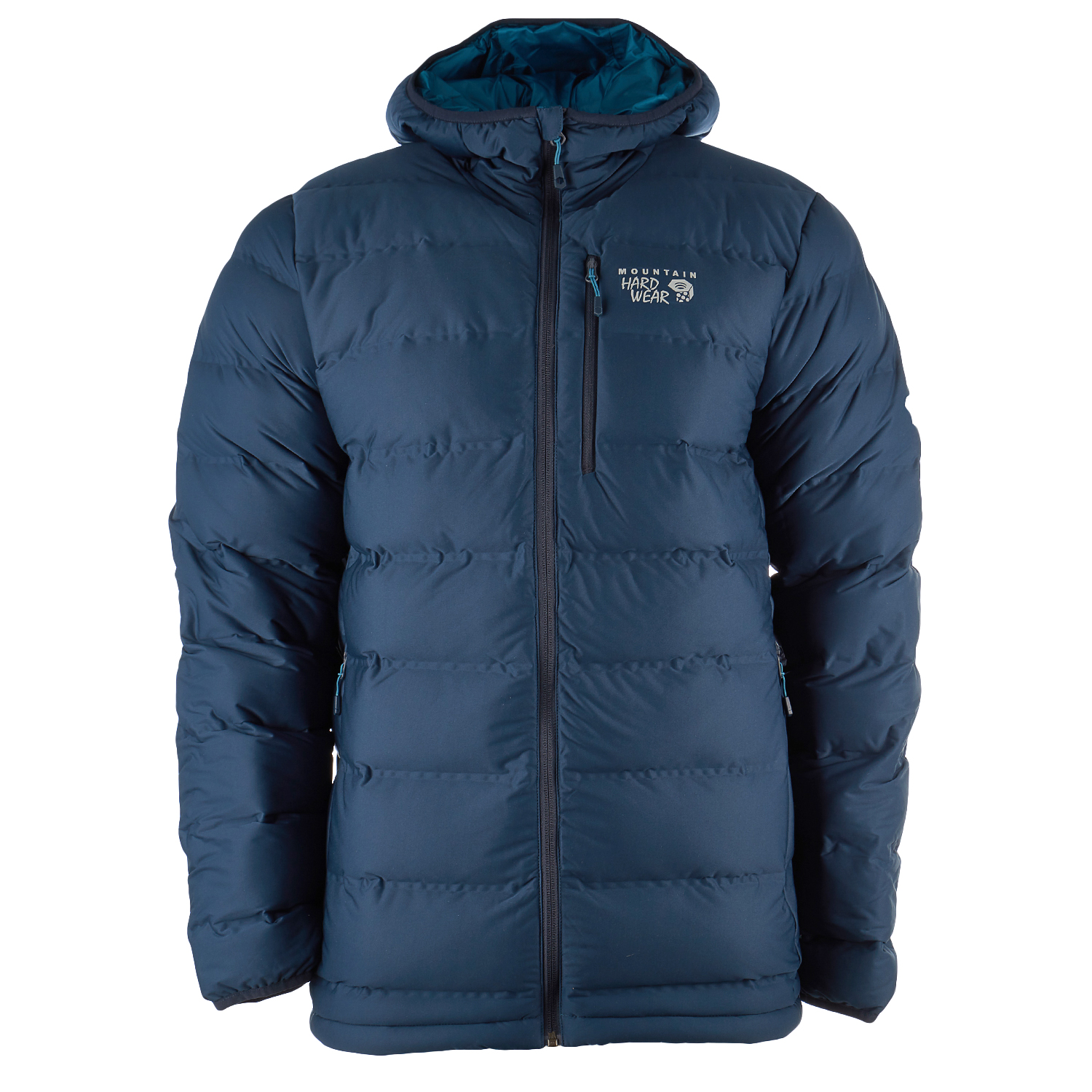 Mountain Hardwear StretchDown Plus Insulated Hooded Down Jacket Coat - Mens