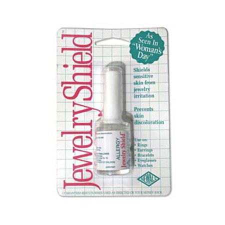 Allergy Jewelry Shield - Paint-On Protective Barrier - Includes Brush