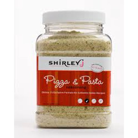 Shirley J's Pizza & Pasta Seasoning - 8 ounce container