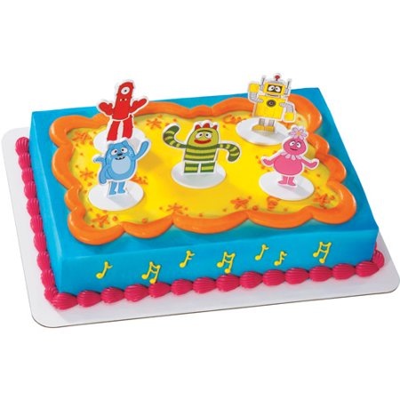 Yo Gabba Gabba Cake Toppers, Set of 5 - Walmart.com