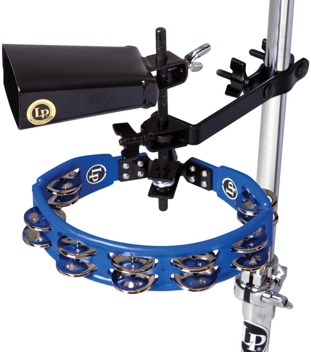 LP Tambourine and Cowbell with Mount Kit by LP