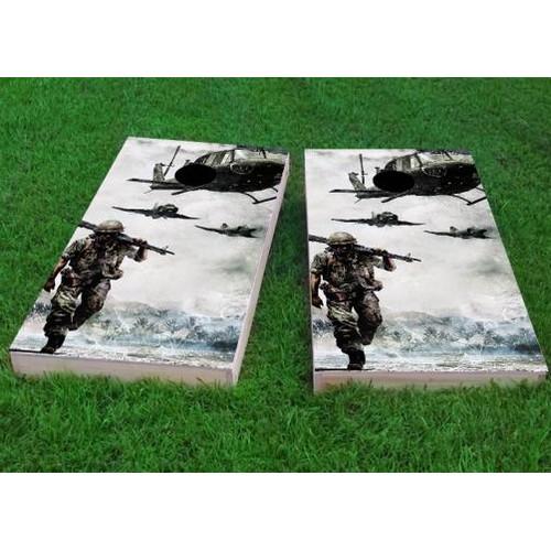 Custom Cornhole Boards Marching Troops Cornhole Game (Set of 2) by Custom Cornhole Boards