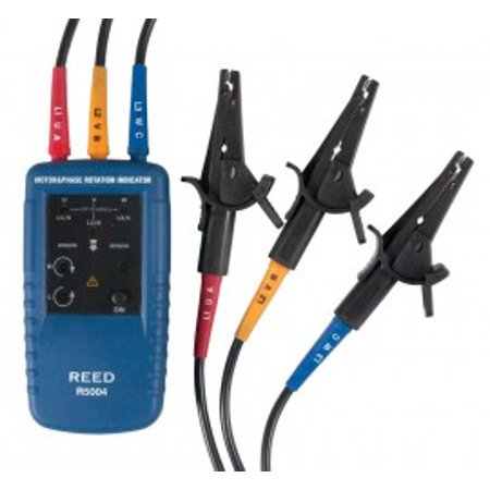 Motor Rotation Tester (REED Instruments R5004 Phase and Motor Rotation Tester)