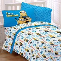 3pc Despicable Me Twin Sheet Set Minions At Work Bedding