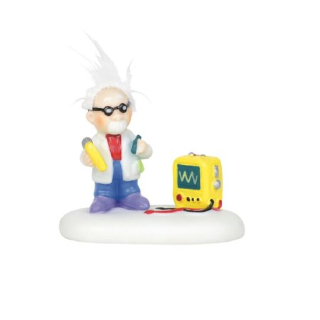 Department 56 North Pole Village Static Electricity Expert Figurine 6003124 New ()
