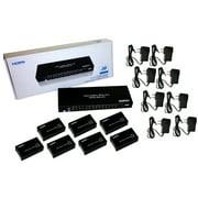 1x8 HDMI Splitter & Extender over Single CAT5e/6 - Complete Solution Kit