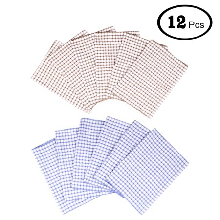 12-Pack Terry Cotton Kitchen Cleaning Cloths Towels Multi Purpose - Multi Purpose Cotton
