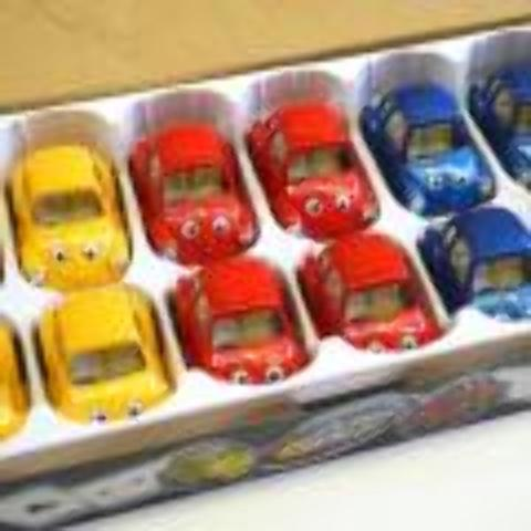 Die Cast Car With Eyes Case Pack 24 by