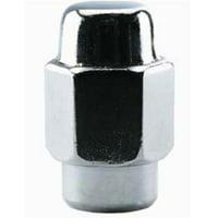 2 Pc Short Shank Mag Chrome Wheel Lug Nut