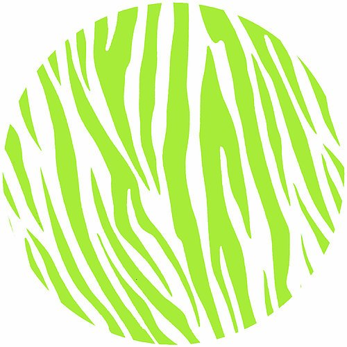Andreas Silicone Trivets Wild Lime Zebra Trivet by