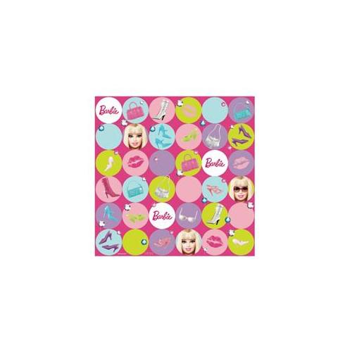 Amscan 220705 Barbie All Dolld Up Gift Wrap