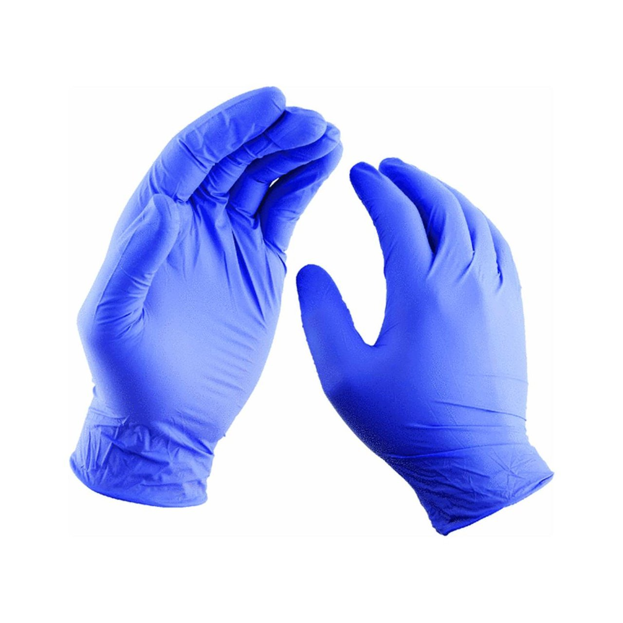 76191 Latex Gloves, Lightly powdered for easy on and off By Lehigh Spontex