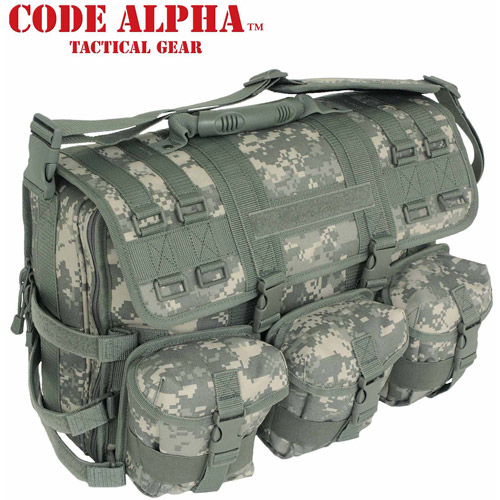 Code Alpha Computer Messenger Bag
