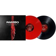 Rambo Last Blood Original Motion Picture Soundtrack (Exclusive Red & Black Vinyl) LP Record - Brian Tyler